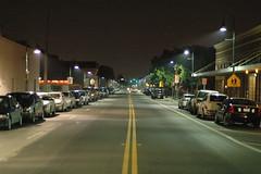 (hackett) Tags: night sanantonio vanishingpoint texas perspective may convergence firstfriday emptystreet hackett southtown kingwilliam 50mmf18af claytonhackett