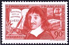 邮票上的笛卡尔