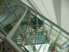 318- Glass Stair Case on South-East Front (j.scharkosi) Tags: views villa thurn