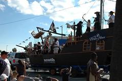 DSC_0074 (Amazing_TiTo) Tags: ocean vacation beach parade pirate tybee tybeeisland float pirateship piratefest