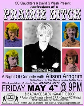 Confessions of a Prairie Bitch flyer