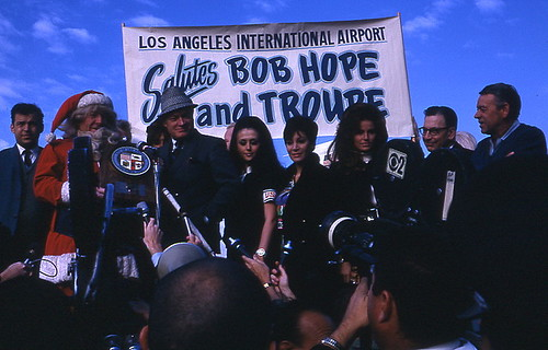 Bob Hope and his Troupe