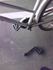 pedal...