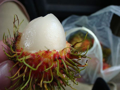 Rambutan - lovely Thai fruit!