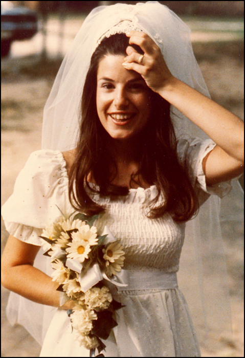 Mom On Her Wedding Day