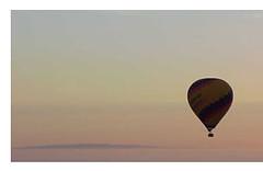 Sunrise in a ballon