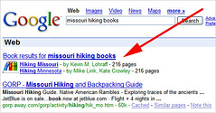 Google onebox books