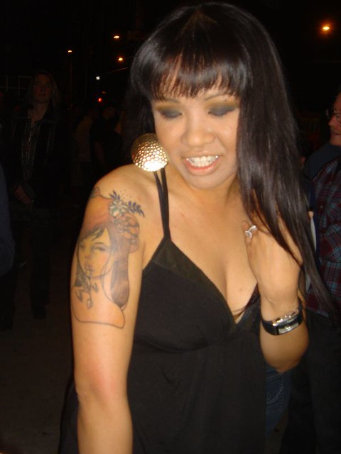 Audrey Kawasaki Tattoo