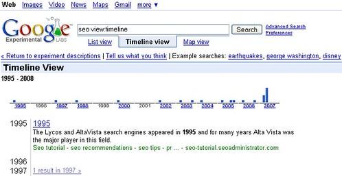 Universal Search Google