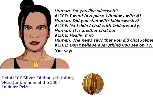 Alice chat bot