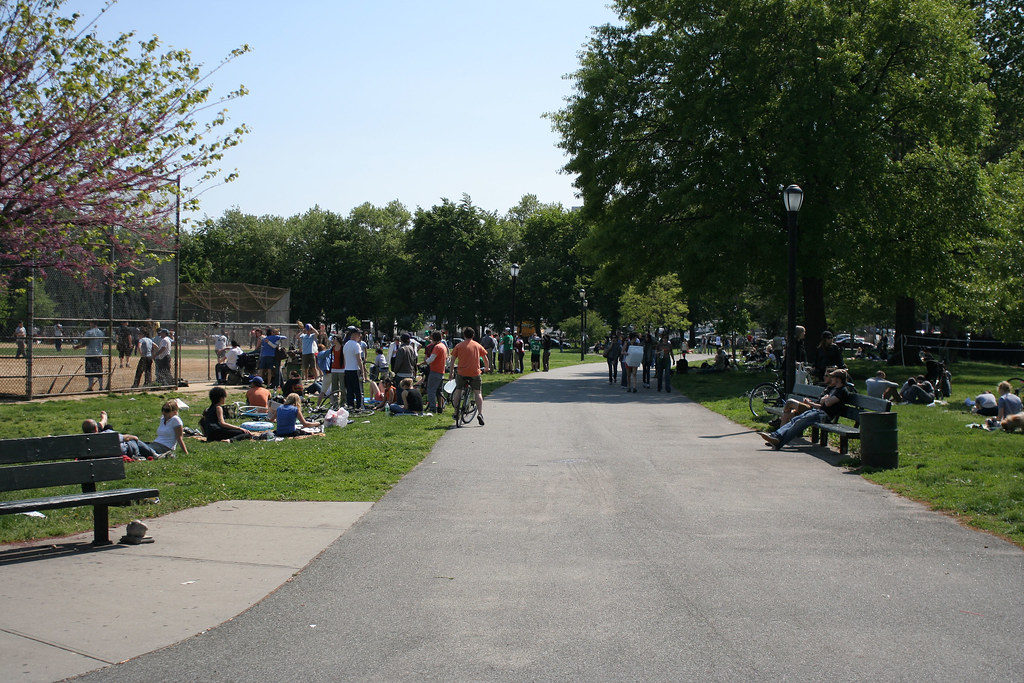 McCarren Park scene
