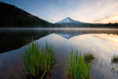 Trillium Lake - Calmness (Jesse Estes) Tags: reflection explore mthood 1020 trilliumlake unature unaturefav