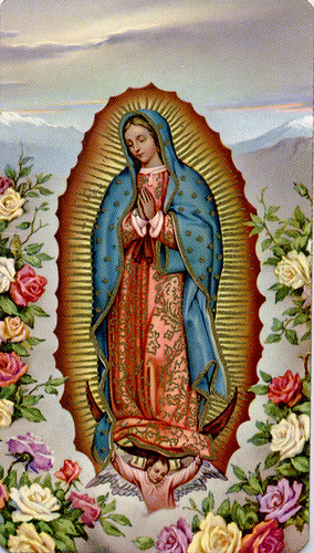 The Image Of Our Lady Of Guadalupe