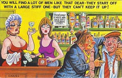 Ooh err missus. (Bay M) Tags: comedy postcard humour bamforth richardwisbey richiewisbeycollection