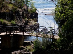 Temperance River (beautyinmetal) Tags: bridge lake beauty forest river superior temperance tofteminnesotamnusa