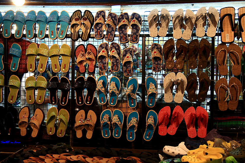 Shoes for Sale @ Hua Hin Thailand Night market