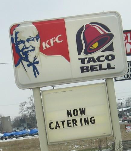 KFC Taco Bell Wedding