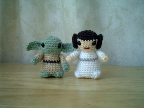 Yoda and Princess Leia / Lucyravenscar (Angry Angel)