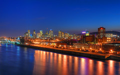 Montreal at the Blue Hour from the Bridge HDR (David Giral | davidgiralphoto.com) Tags: longexposure bridge blue sky urban chien canada david skyline night port landscape lights evening nikon highway bravo long exposure downtown boulevard cityscape quebec dusk montreal royal churches cartier notredame brewery hour highrise pont entre loup bluehour autoroute d200 paysage et jacques lofts mont hdr heure molson villemarie giral magique nikond200 18200mmf3556gvr entrechienetloup 5xp outstandingshots flickrsbest tthdr copyrightdgiral davidgiral anawesomeshot superaplus aplusphoto