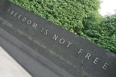 Freedom is not free (jepoirrier) Tags: usa freedom dc washington free columbia koreanwarmemorial