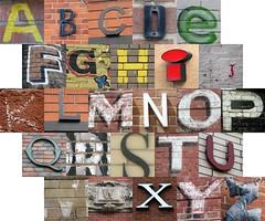 Letters on Bricks III