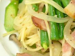 春のいろいろ野菜スパゲティ