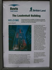 Leadenhall Building newsletter