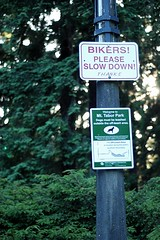 sign at Mt. Tabor