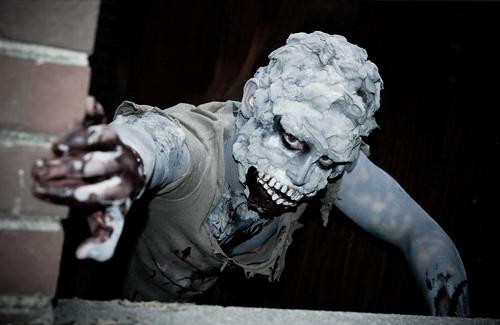 foam latex prosthetic. fx. makeup