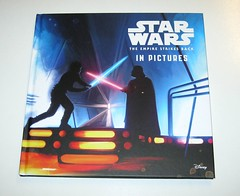 star wars in pictures 4 book box set ryder windham and brian rood disney 2016 e the empire strikes back (tjparkside) Tags: star wars pictures 4 book box set 2016 disney lucasfilm isbn 9781760128456 episode four five six seven iv v vi vii 5 6 7 anh new hope empire strikes back tesb esb rotj return jedi force awakens tie fighter fighters millennium falcon rey jakku scavenger bb 8 bb8 droid luke skywalker sail barge tatooine darth vader bespin outfit cloud city x wing xwing pilot illustrator brian rood author ryder windham