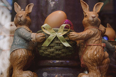 Happy Easter (Sun Spiral) Tags: holiday france bunnies shop easter religious display egg nikond50 windowshopping happyeaster meert