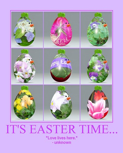 It's Easter Time...