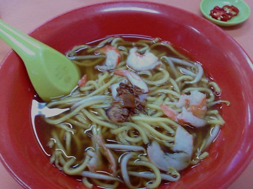Blanco Court's S$3 Soup Sliced Prawn Mee