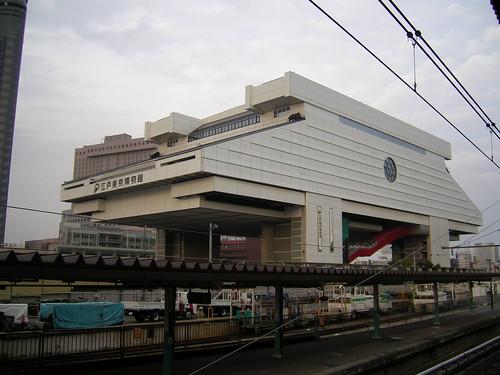 彼と江戸東京博物館に行ったのよ