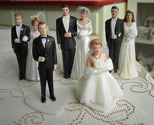 See more in the book Vintage Wedding Cake Toppers