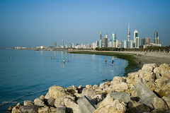 Summer Just Started (Hussain Shah.) Tags: summer beach d50 nikon just kuwait 1855mm nikkor started kuwaitcity q8picturescom kuwaitimuwali