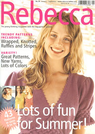 Rebecca Magazine at Little Knits