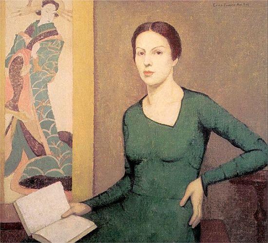 Emma Fordyce MacRae, Melina in Green, 1930