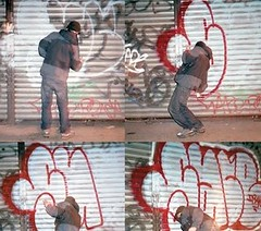 Sace Irak (Action shot) (R.i.p) (Press Pause) Tags: graffiti sace sacer