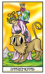 Strength (JShine) Tags: flowers gambling love major energy power heart time earth 8 tarot learning strength viii learn repulsion attraction arcana deceit courage fortitude egotism liox cowardice selfcontrol conceit faithlessness listlessness ruthlessness