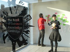 The Bank of Common Knowledge / Cambridge - by [i.]