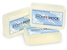 Met Shower Shock soap geen koffie meer nodig