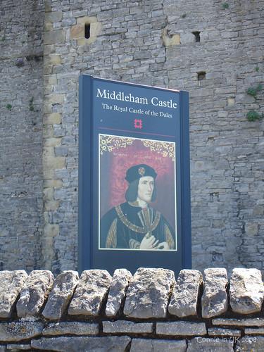 想不到 Richard III 竟然成了 Castle 的生招牌