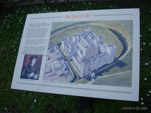 十五世紀的 Middleham Castle