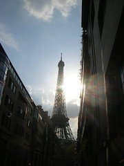 eiffel tower -- from eileen