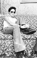 me sunglasses brooklyn kodak style tony nostalgia 70s anthony sideburns wristwatch 1977 seventies guido trix400 bellbottoms bampw minoltasrt102 nineteenseventies