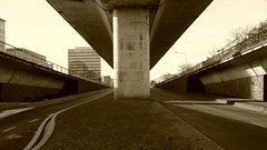 Overpass (Amaury Henderick) Tags: motorway belgium belgique belgi overpass viaduct 169 ghent gent bellevue flyover gand viaduc snelweg oprit autostrade uco ledeberg ucotoren