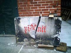 Cracked Graffiti