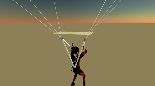 Sky Diving in Second Life (5)