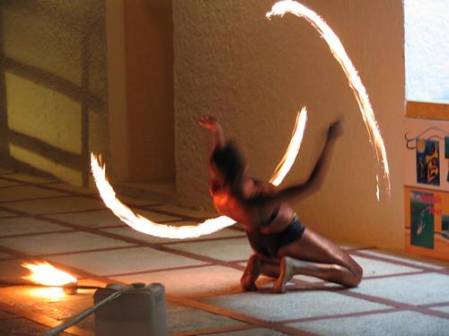 Evening's Fire show